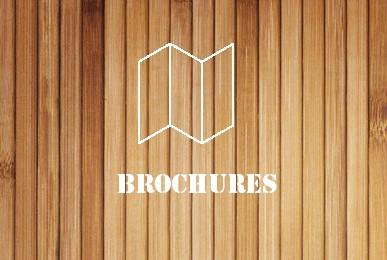 Brochures - wood