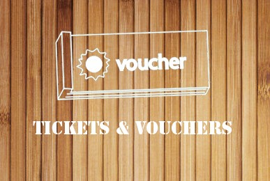 Vouchers -wood dark