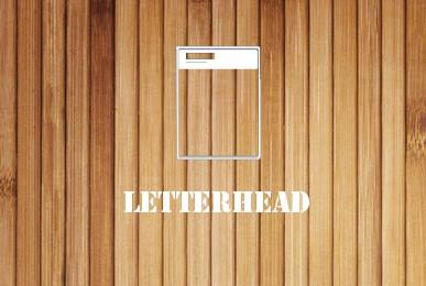 letterhead wood